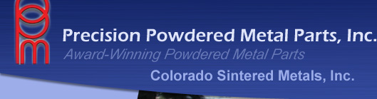 Precision Powdered Metal Parts, Inc. | Award-Winning Powdered Metal Parts